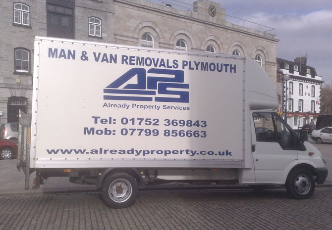 Man Van Plymouth