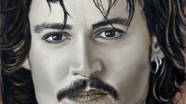 Johnny Depp by Teresa Witz