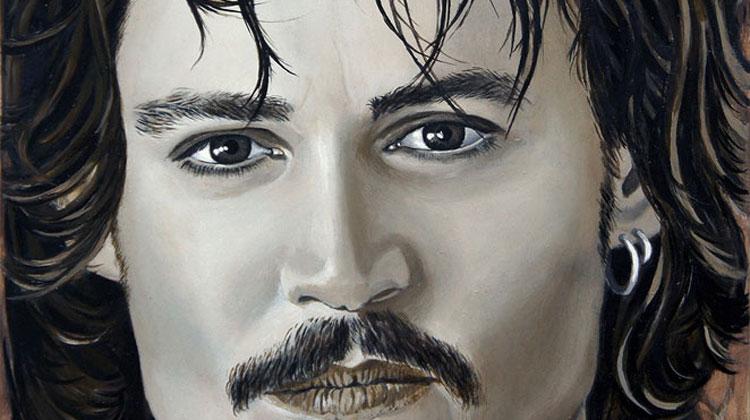 Johnny Depp by Teresa Witz