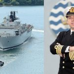 HMS Bulwark welcomes new Captain