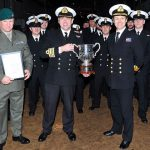 HMS Bulwark awarded Royal Navy's major warship trophy
