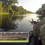 Royal Marines hone their jungle fighting skills