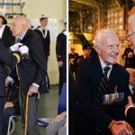 French Wartime Honour presented on French Warship Dixmude