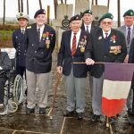 Legion D'Honneur presentation at Devon Royal Marine base