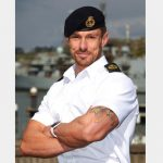 Royal Navy Sailor, Steve Winter, International Body- Building Contest