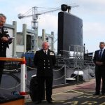 Royal Navy Museum Submarine re-launched