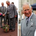 The Prince of Wales visited the Royal Navy in Plymouth