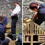 MoD Apprentices Rebuild School Garden
