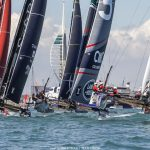 America's Cup. Sir Ben jumps into the lead in Portsmouth