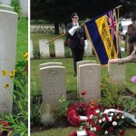 Royal Marine Private Walter Buckley grave rededication