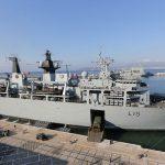 Royal Navy Amphibious Task Group in Gibraltar