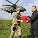 Royal Navy and Royal British Legion Launch Devon Poppy Appeal