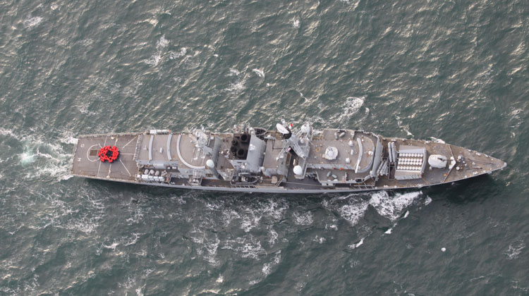 Warship HMS Somerset launches Poppy Appeal
