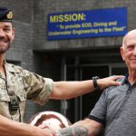 Ed Baxendale Retires from Southern Diving Unit