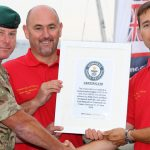 Royal Navy Sailing World Record Presentation