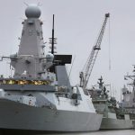 NATO Warships leave Devonport