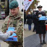 Royal Navy helps launch Poppy Appeal in Plymouth