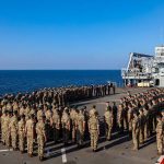 Royal Marines mark 352nd Anniversary