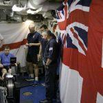 HMS Somerset sailors charity Rowathon