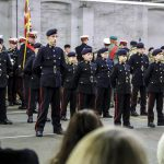 Royal Marines Volunteer Cadet Corps receive berets