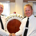 Captain Matt Syrett as new commander of Royal Navy Survey Fleet