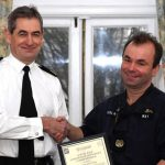Warrant Officer Spike Way awarded for youth work