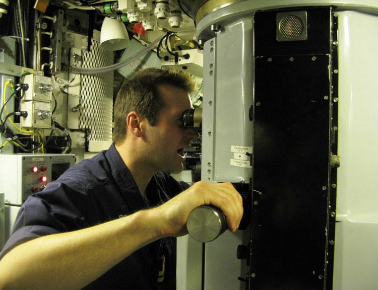 HMS Trenchant periscope