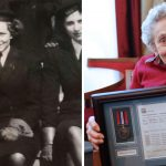 WWII Veteran, Patience Whitwell, finally receives service medal