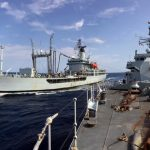 Royal Navy support tanker RFA Gold Rover retires