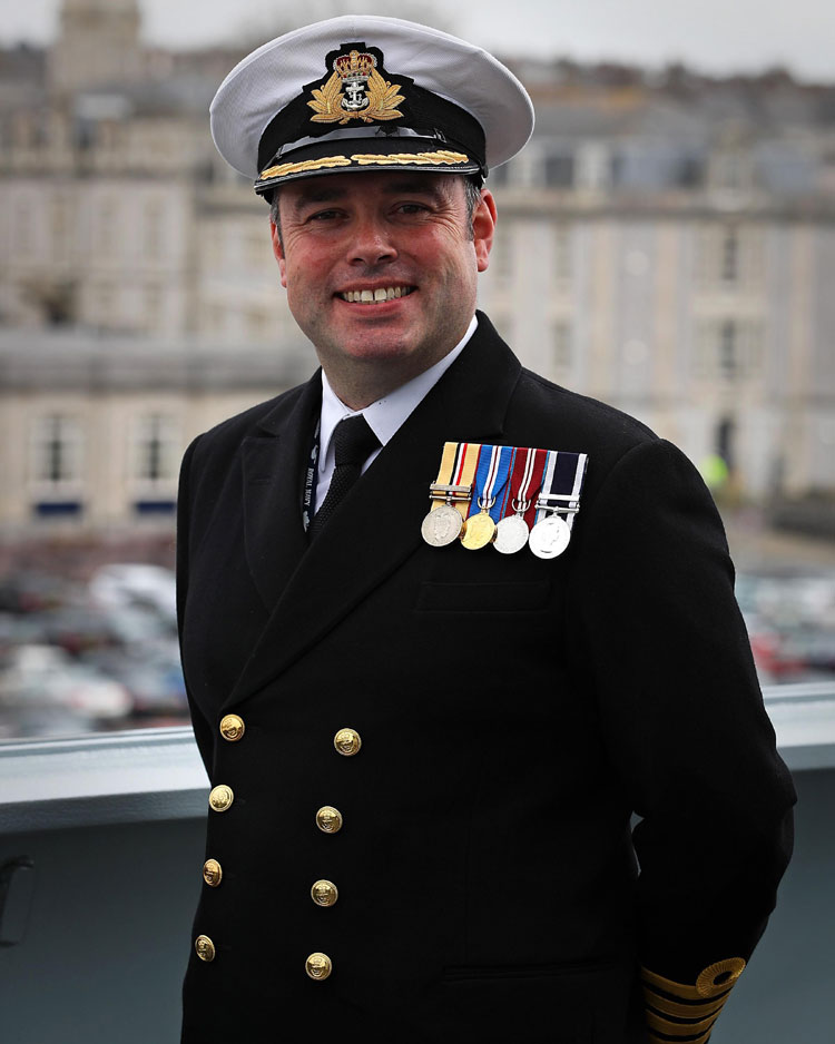 Captain Tim Neild