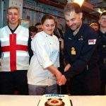 Royal Navy frigate HMS Montrose welcomes crew back on board