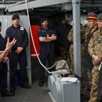 Royal Navy hosts international military students
