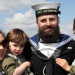 HMS Enterprise home after three years away