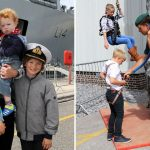 HMS Albion family day