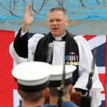 Sailors celebrate HMS Torbay's proud service