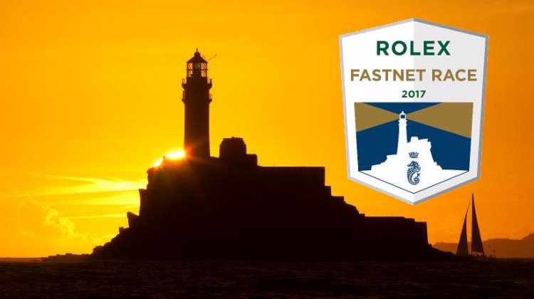 Rolex Fastnet Race . Fight to be first home