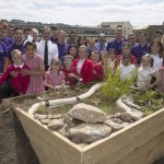 Ministry of Defence engineering apprentices rebuilt school garden