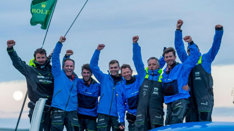Concise home as Dongfeng Race Team leads VO65s around the Rock