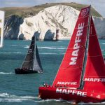 Classic upwind start for record breaking Rolex Fastnet Race