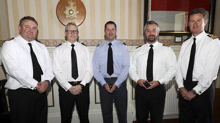 Royal Navy personnel rewarded for professionalism