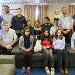 HMS Scott hosts multinational Nippon Hydrographic course