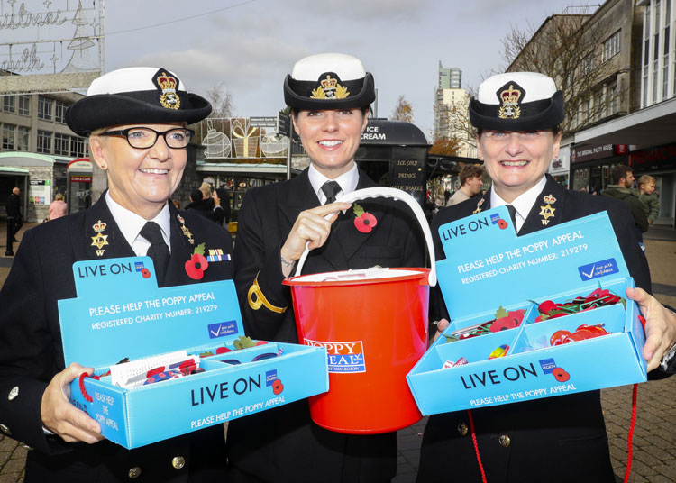 Poppy Appeal Plymouth