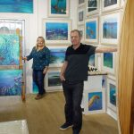 Local family launch a marine themed art studio at Mount Batten