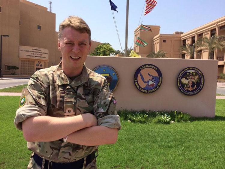 Lt Cdr Jamie Walker