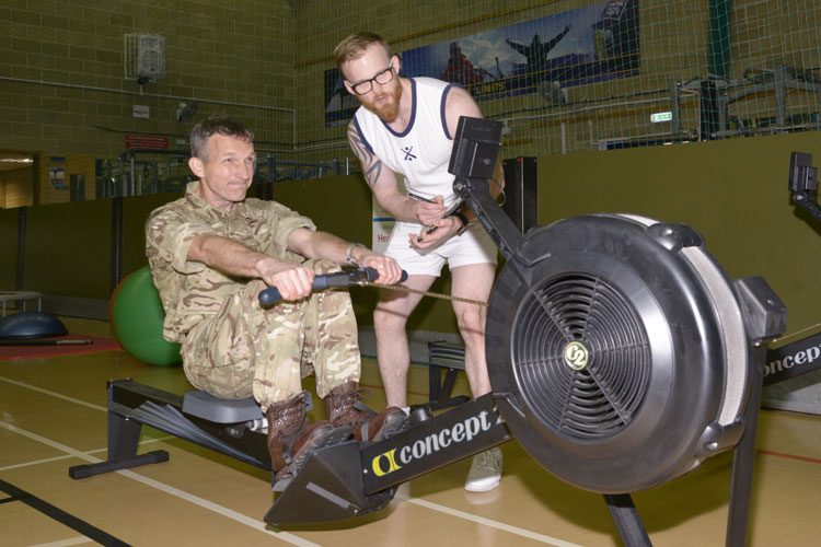 health and well-being fair at Devonport Naval Base