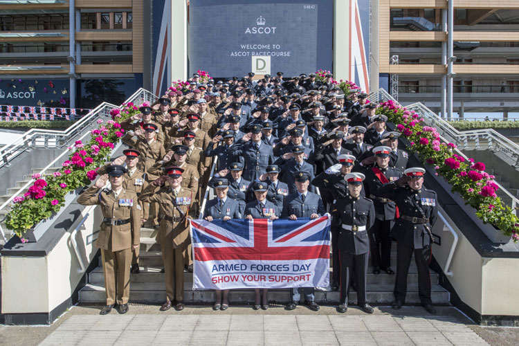 Royal Ascot Armed Forces Day