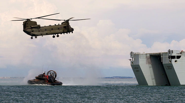 Anglo-French naval force storms Biscay coast in major workout