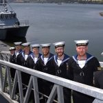 HMS Magpie, the Royal Navy's newest ship commissioned in Devonport