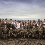 Royal Marines train England's Young Lionesses for World Cup