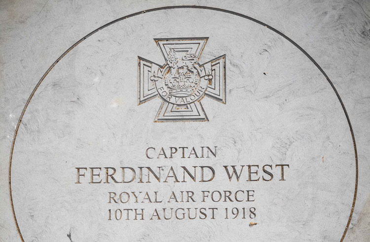 RAF honours first pilot to win the Victoria Cross